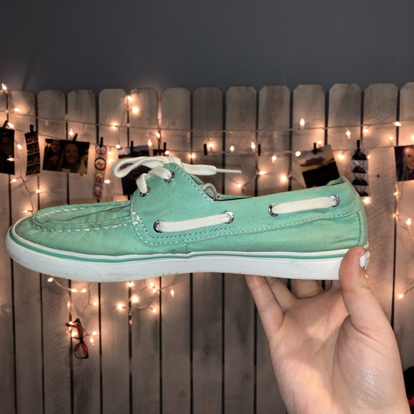 Sperry Shoes | Teal Sperrys | Poshmark